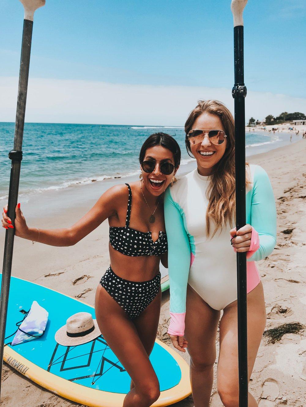 Malibu Pier Paddle Boarding - What to do in Malibu