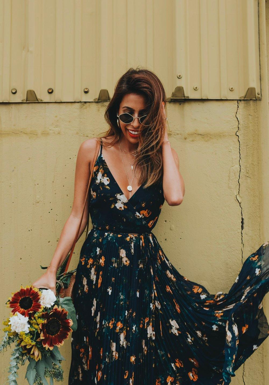 Aritzia Floral Dress in Nashville