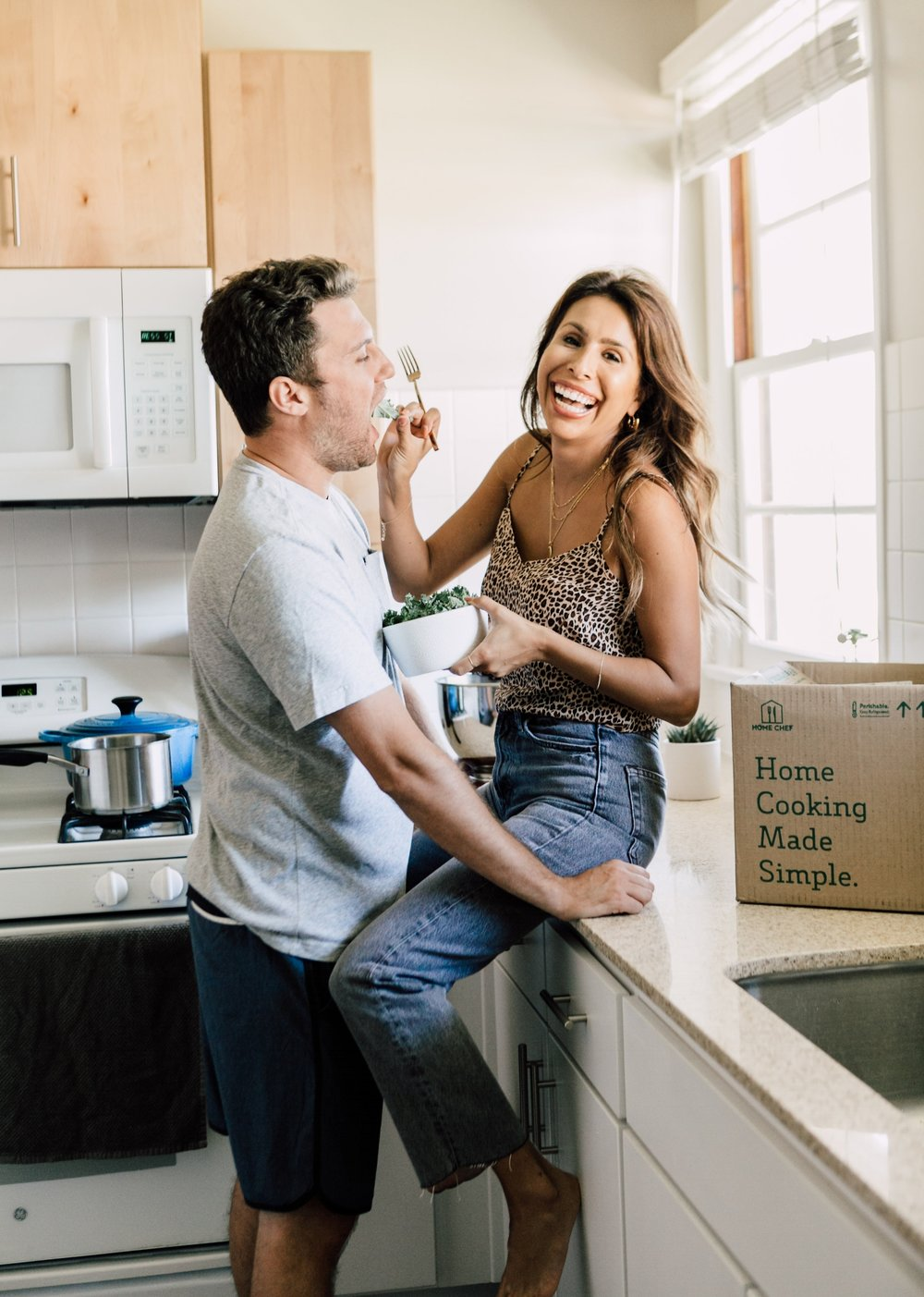 Ashley + Andy - Everyday Pursuits try Home Chef