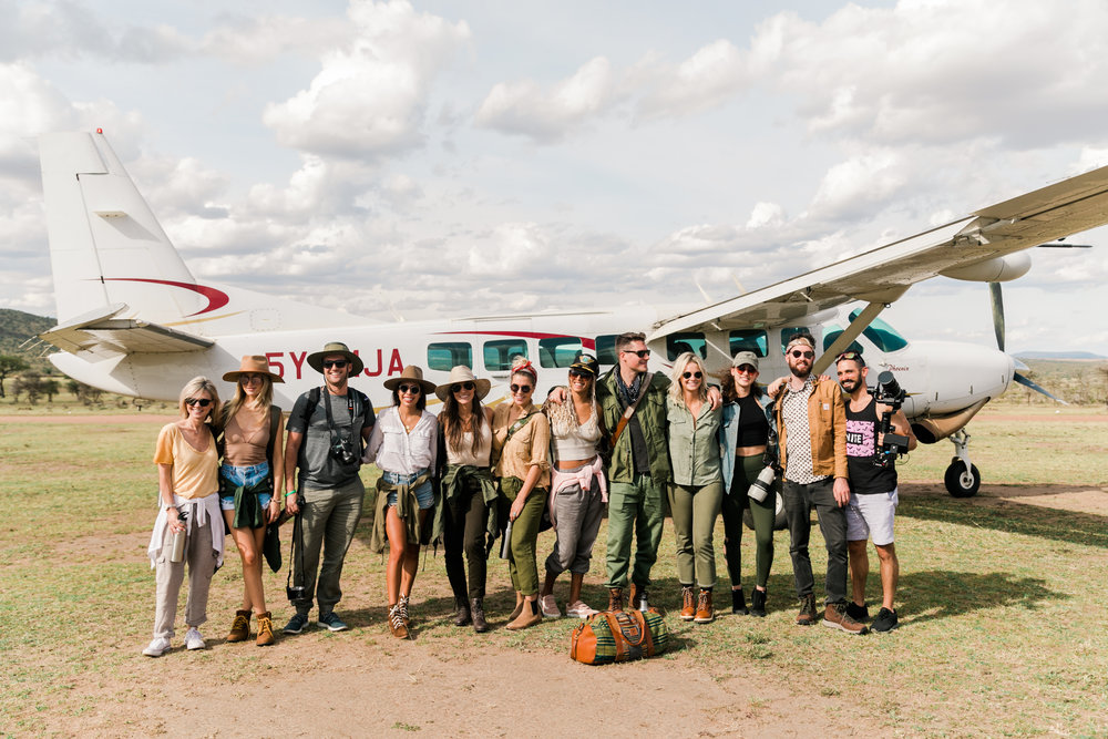 Group trip to Kenya for Masaai Mara Safari - ph: Valorie Darling