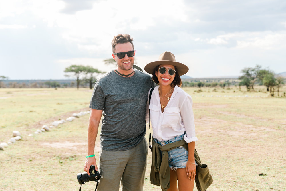 Ashley + Andy - Everyday Pursuits Kenya Safari Trip - Ph. Valorie Darling