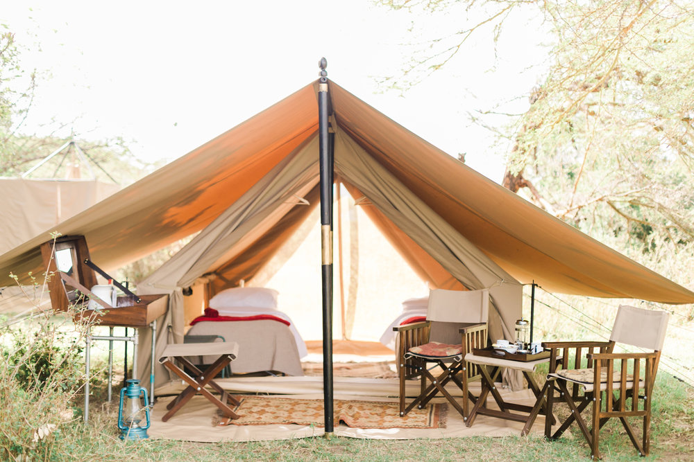 Cottar's Fly Camp Tents - Kenya Safari Ph. Valorie Darling