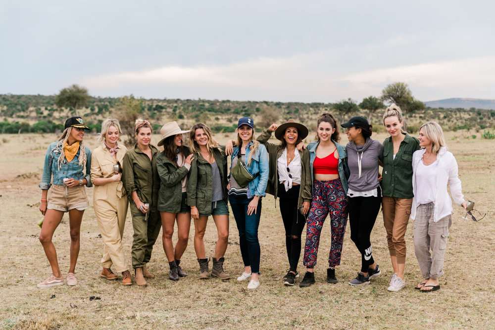 Lauren Bushnell + Everyday Pursuits on Kenya Safari Ph. Valorie Darling