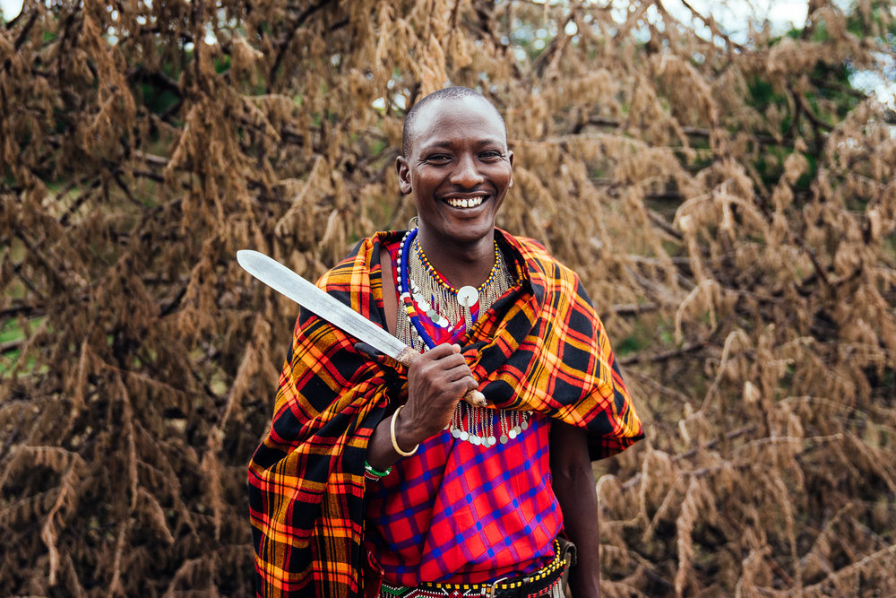 Maco - Maasai Guard Ph. Dave Krugman