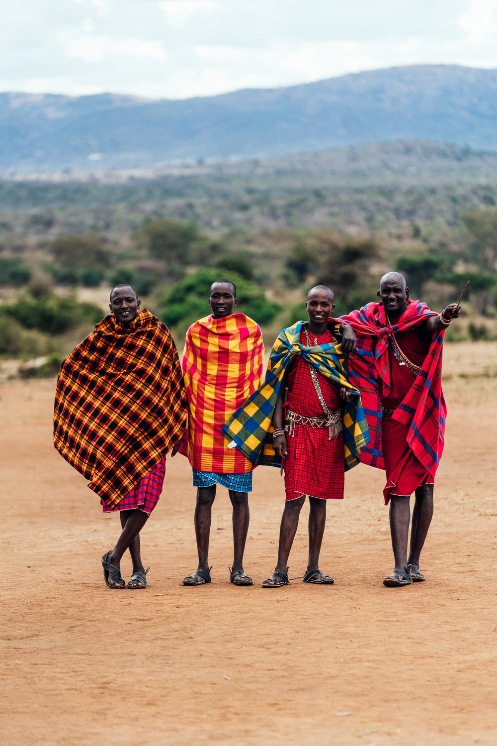 Maasai Guides at Cottars 1920s Safari Camp Ph. Dave Krugman