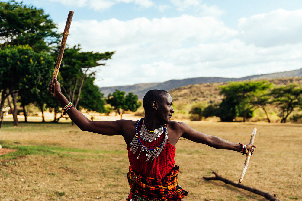 Maasai Warrior Ph. Dave Krugman