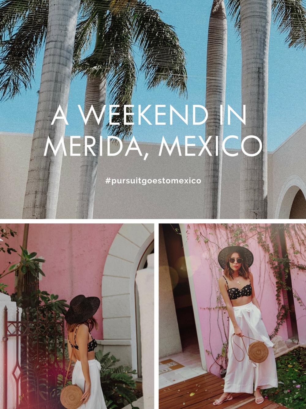 We Wore What Bikini x Onia Bikini for Merida, Mexico