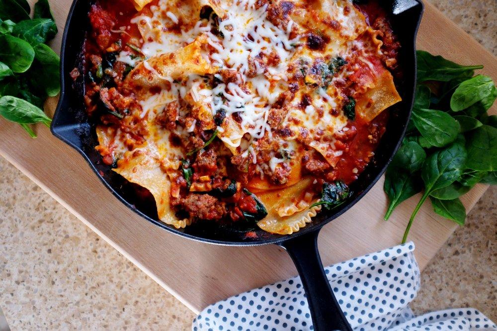Easy Lasagna Recipe ft. Thrive Market Marinara