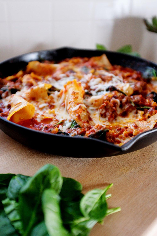 Easy Weeknight Recipe ft. Gluten Free Lasagna from Thrive Market