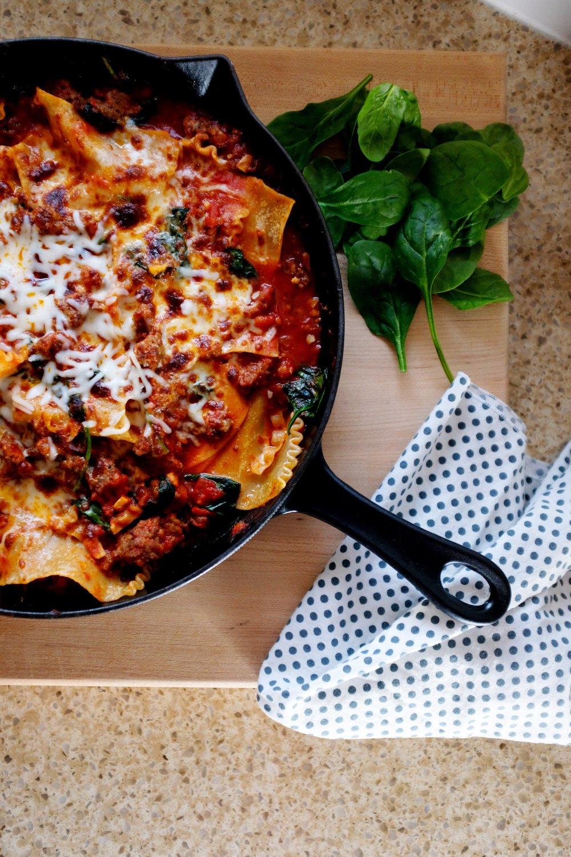 20 minute Lasagna recipe - easy weeknight meal