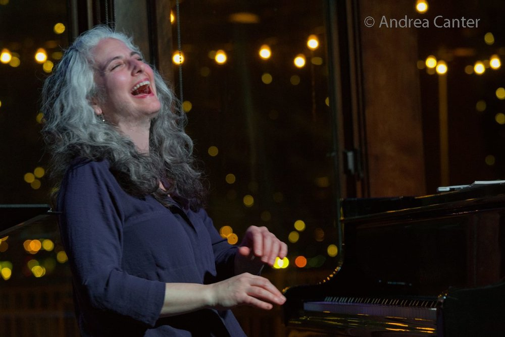 Pianist Mary Louise Knutson, Dunsmore Room at Crooners, Minneapolis, MN