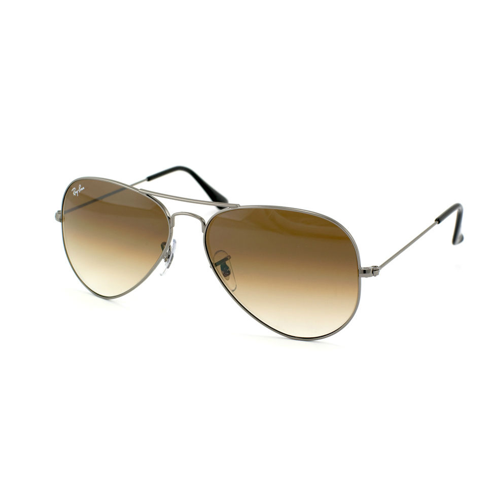 944716d122 Ray-Ban RB3025 Aviator Gunmetal — SightDirect