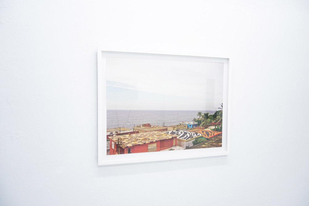 """Radamés """"Juni"""" Figueroa / Salvajismo Caribeño, 2008 / Pintura industrial sobre techo / Intervención"""