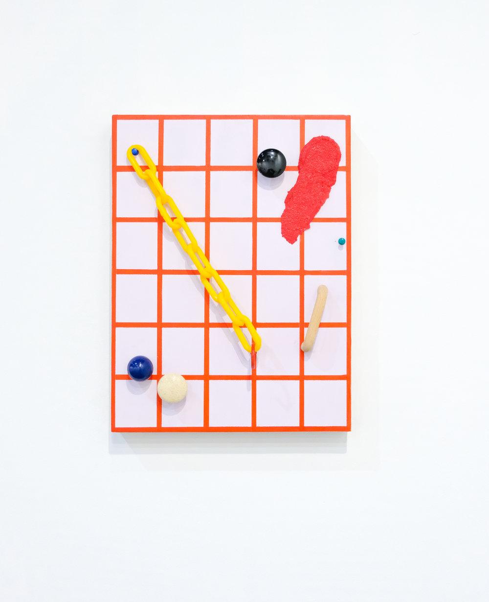 Brandon E. Cannon / Milan, 2016 / Medio mixto / 40.6 x 30.4 x 4.1 cm