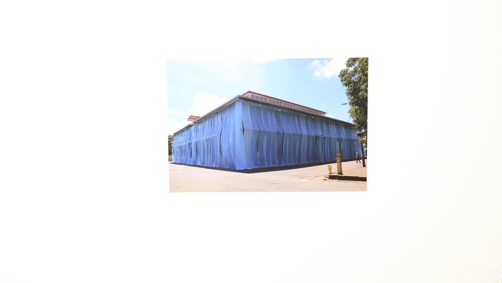 "Oscar Figueroa / United Fruit Company / Impresión digital sobre PVC / 20x16"""