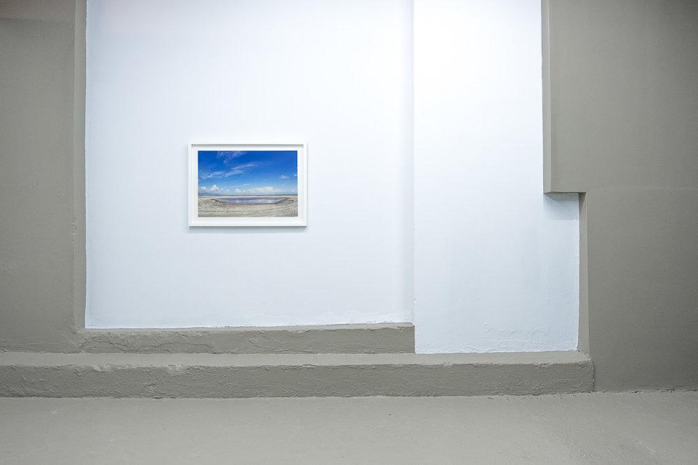 "Salton Sea / 2015 / impresión digital sobre papel de trapo / 25 1/2"" x 35 1/2"""