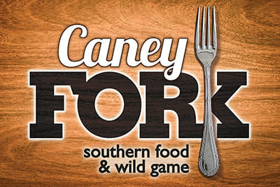 Caney Fork Logo with The Music of Nashville
