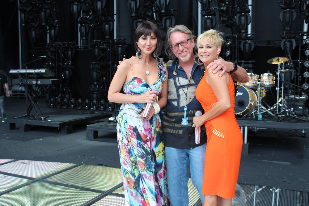 Pam Tillis, Mark Oliverius, Lorrie Morgan
