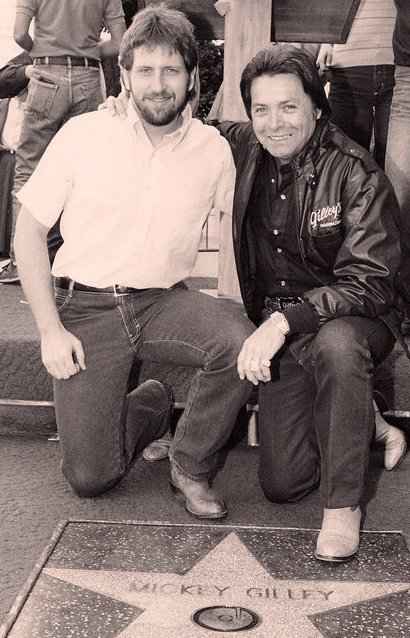 Mark and Mickey Gilley