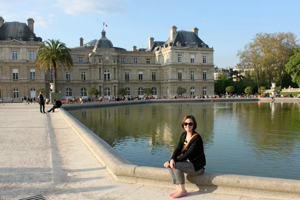My trip to Paris in 2013