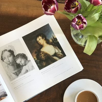 Art by Charlotte and Emily Brontë in The Writer's Brush by Donald Friedman
