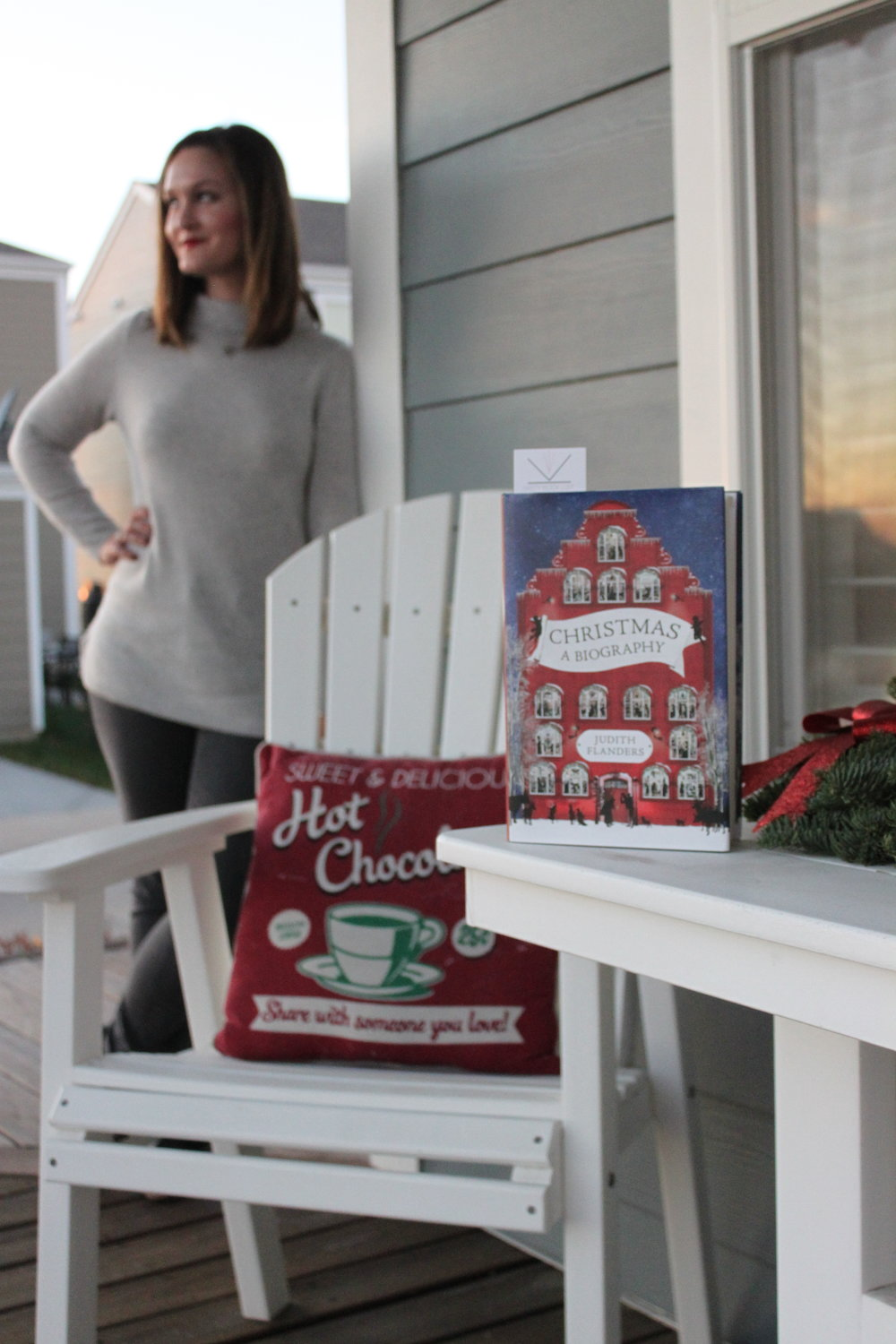 Reading Christmas: A Biography by Judith Flanders in New Town, St. Charles, Missouri