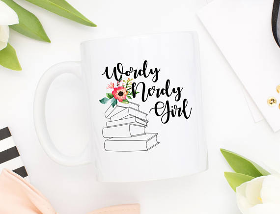 5 Gifts to Give Book-Lovers (besides books!) 2) A coffee mug from Bunble and Bustle