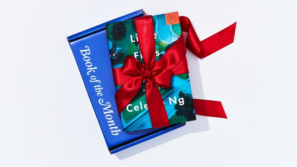 5 Subscription Book Boxes to Give as Gifts - 1) Book of the Month