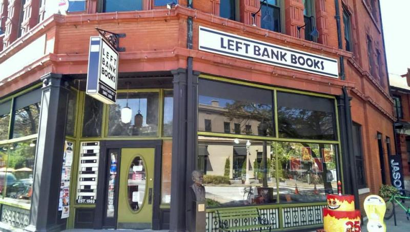 New Year, New City: 5 St. Louis Bookstores to Visit in 2018: 1) Left Bank Books | Photo from Left Banks Books' website