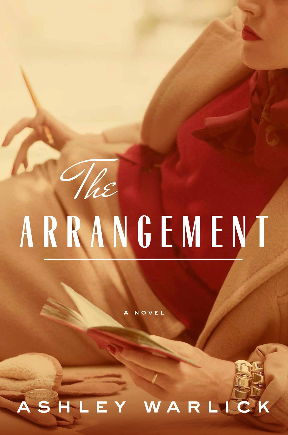 5 Books to Read with a Glass of Wine for National Drink Wine Day: 5) The Arrangement by Ashley Warlick