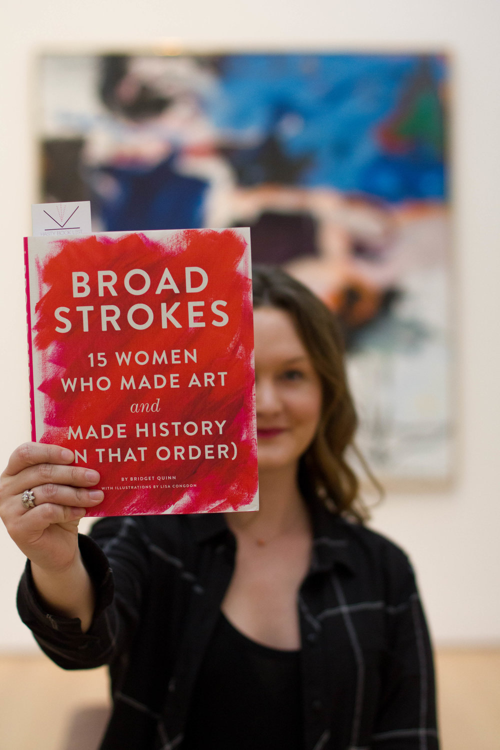 Reading Broad Strokes by Bridget Quinn at the St. Louis Art Museum