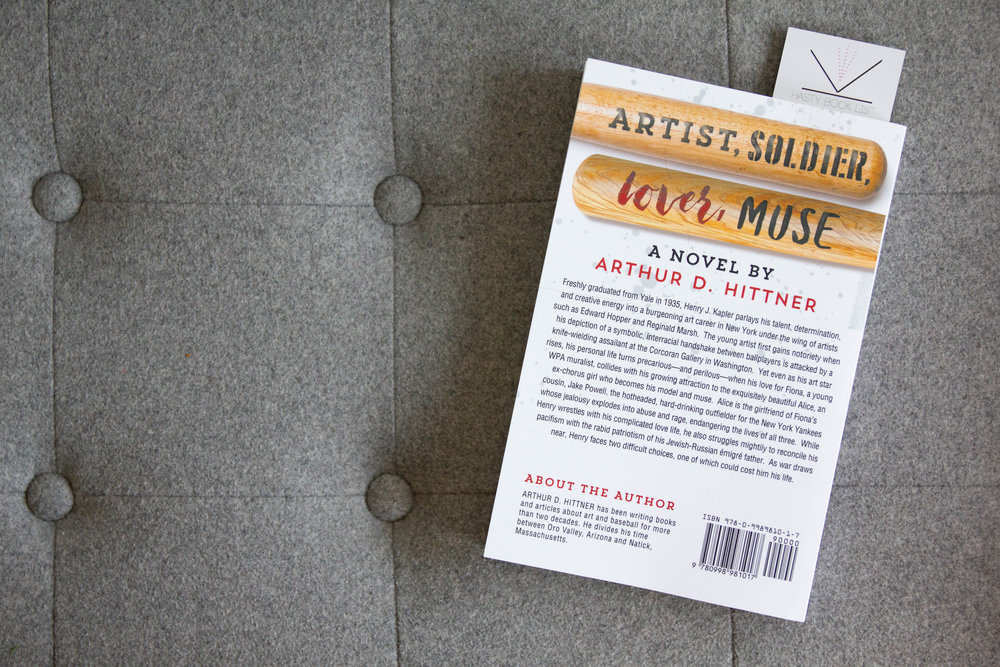Artist,Soldier,Lover,Muse by Arthur D Hittner