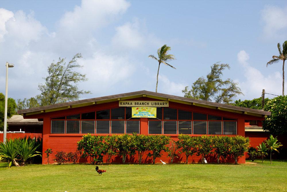 Literary Travel Guide: Kauai   Best libraries