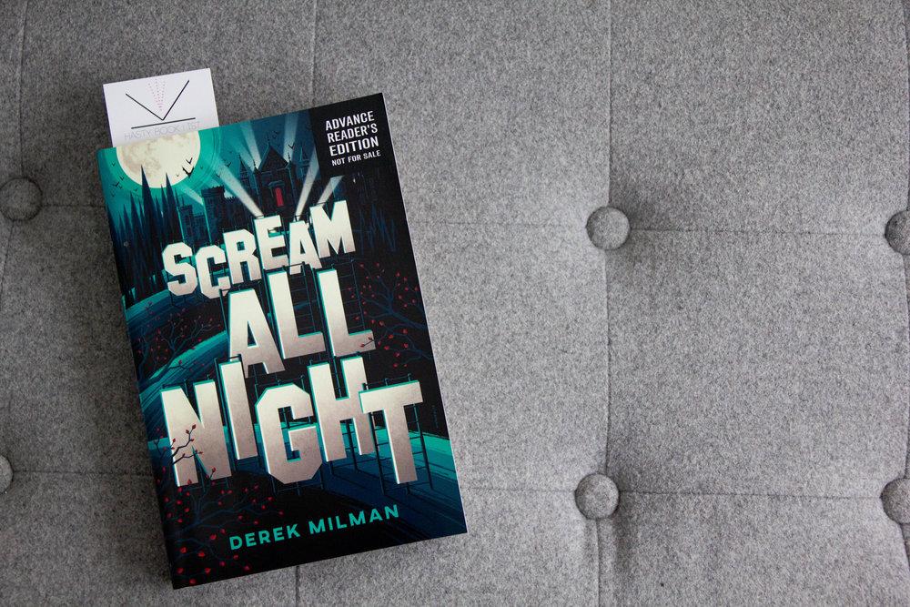 Book Feature - Scream All Night by Derek Milman