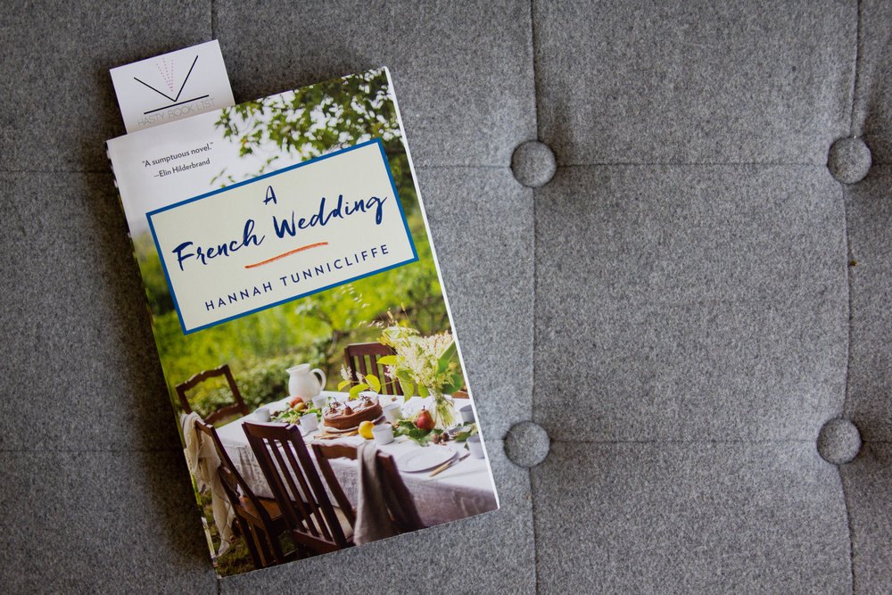 Book Feature - A French Wedding by Hannah Tunnicliffe