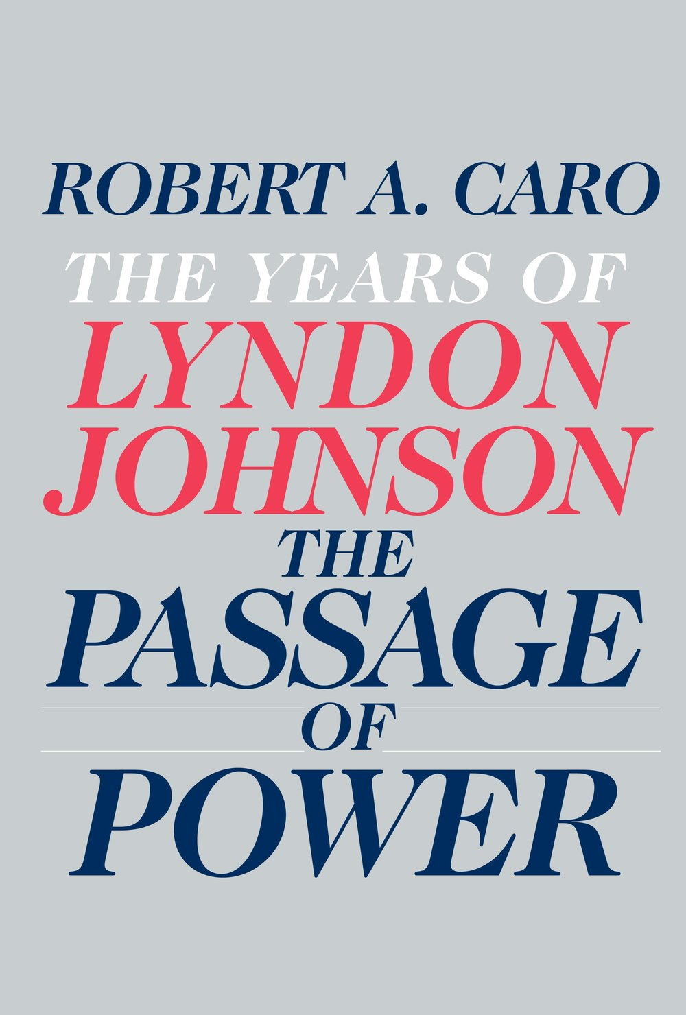 The Passage of Power  by robert a caro.jpg