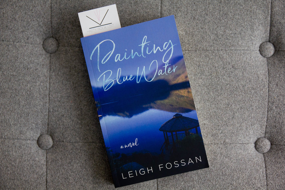 Book Feature - Painting Blue Water by Leigh Fossan
