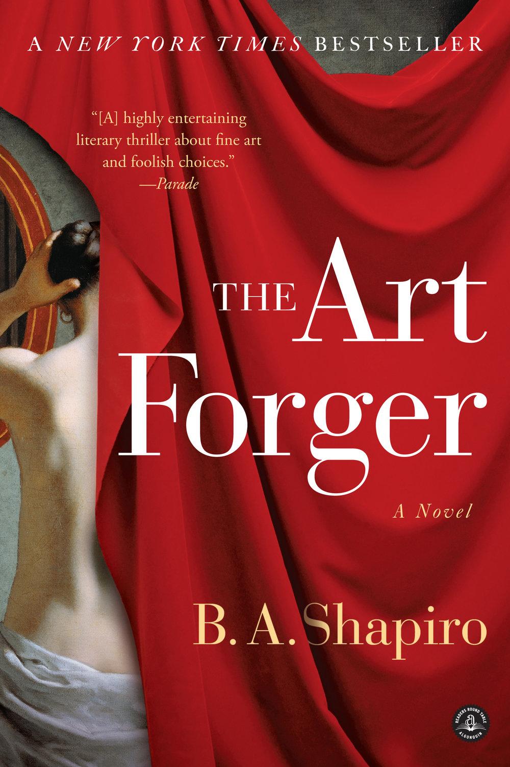 the art forger by b a shapiro.jpg