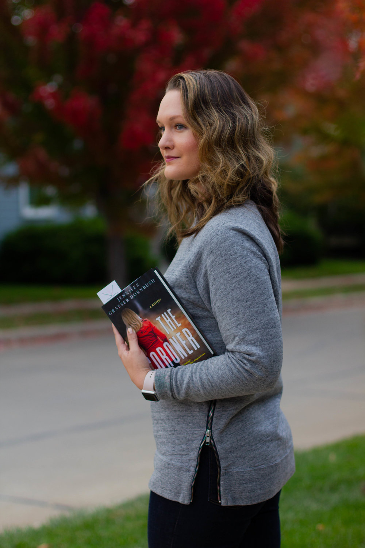 Reading The Coroner by Jennifer Graeser Dornbush in New Town at St. Charles
