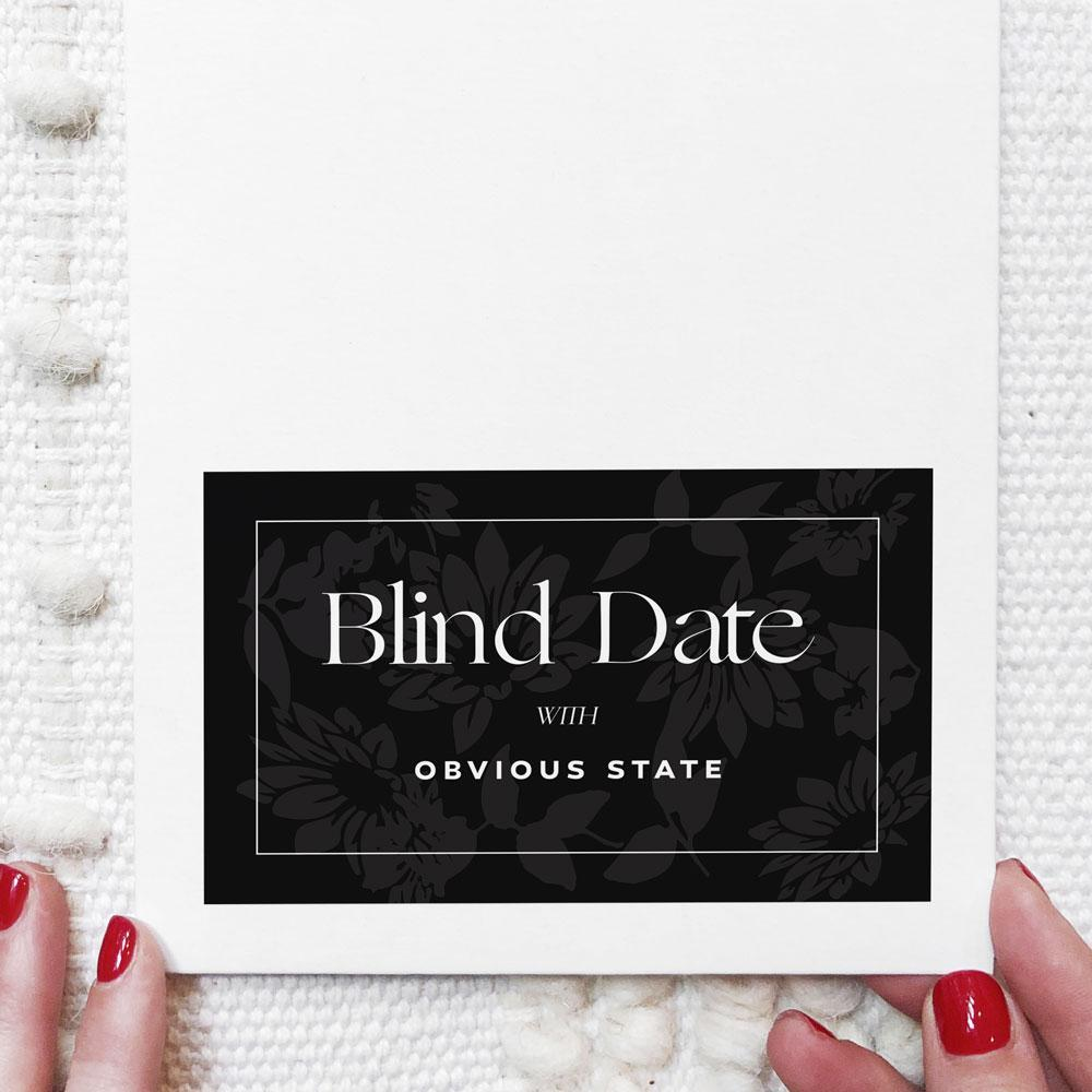 5 Gifts for Book Lovers | Blind Date with a Book by Obvious State