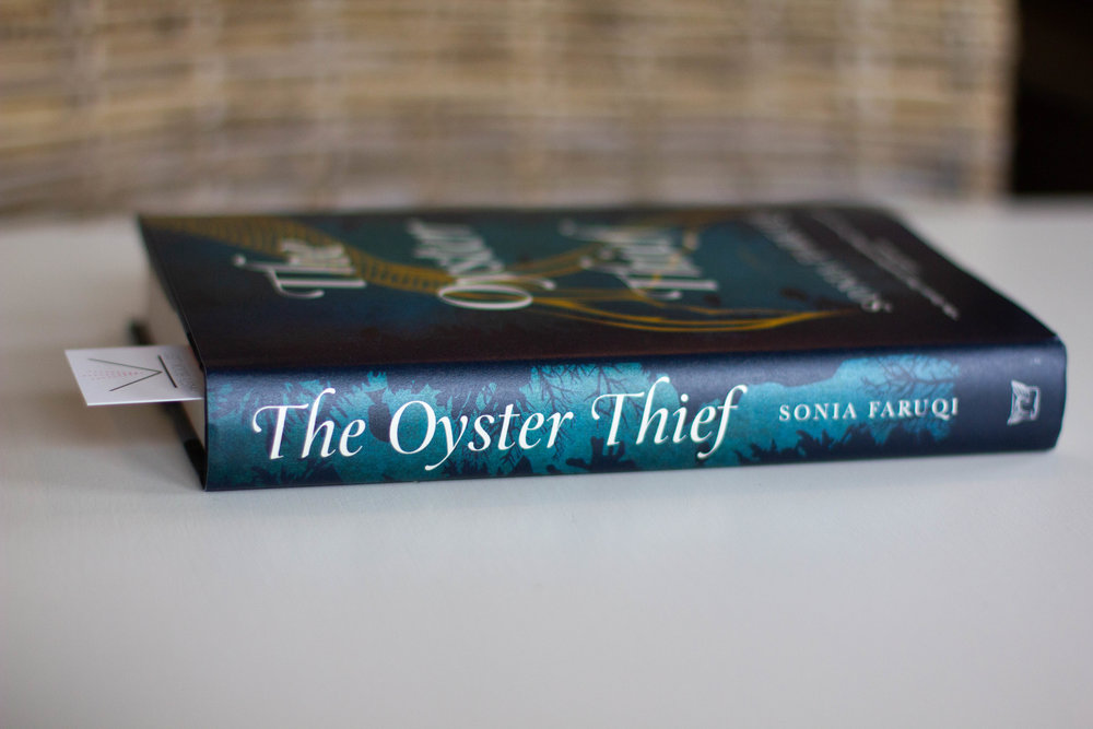 Book Feature - The Oyster Thief by Sonia Faruqi