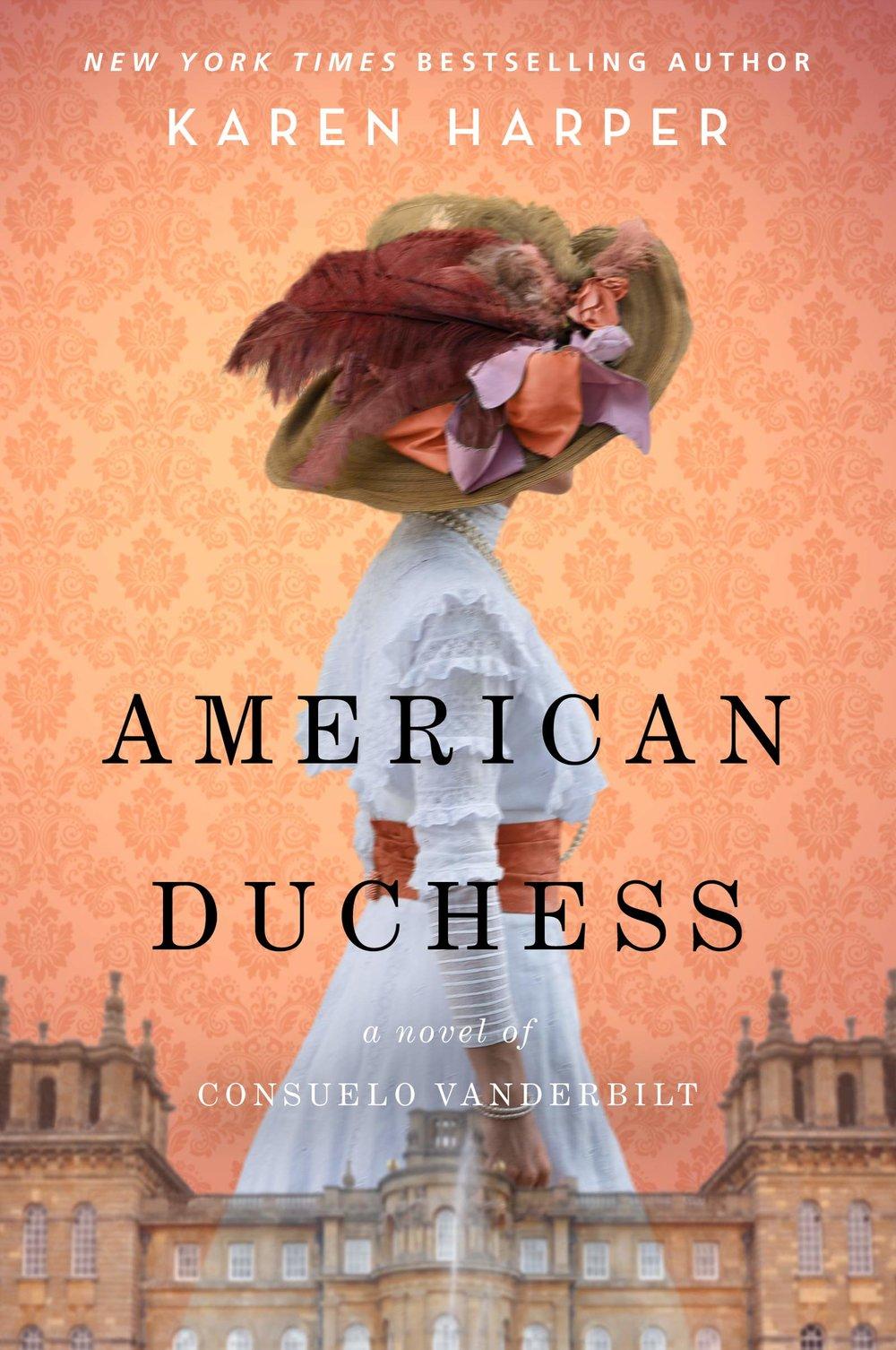 american duchess by karen harper.jpg