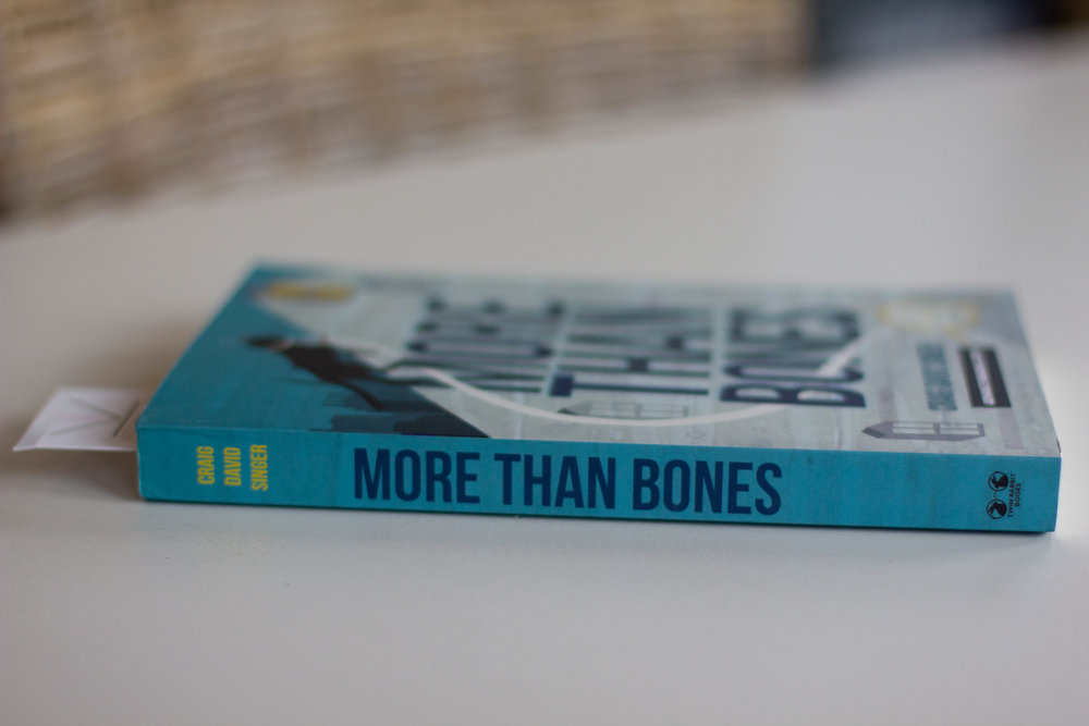 Book Feature - More Than Bones by Craig Singer