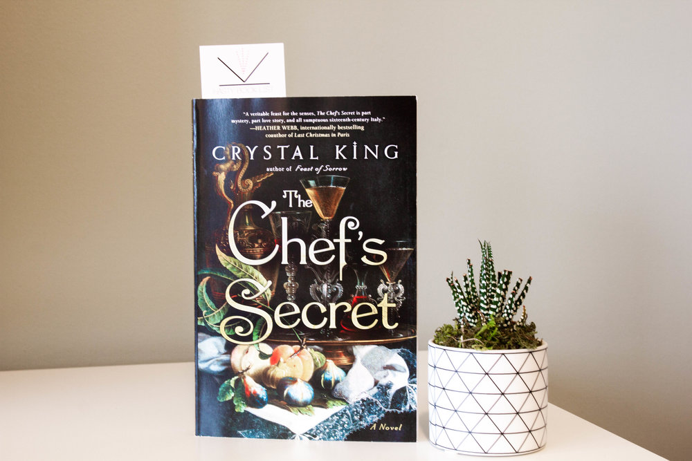 Book Feature - The Chef's Secret by Crystal King