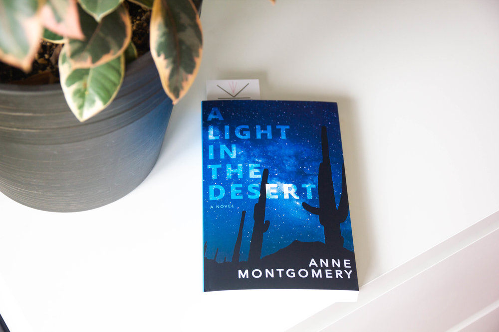 Book Feature - A Light in the Desert by Anne Montgomery