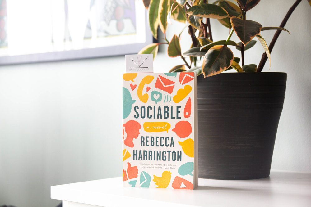 Book Feature - Sociable by Rebecca Harrington