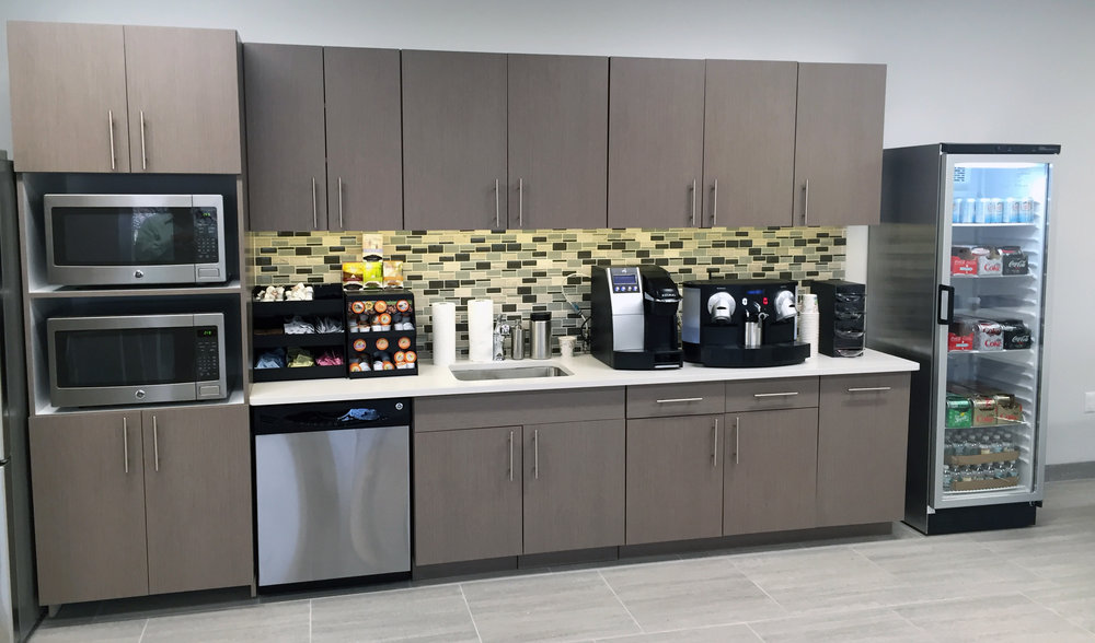 integrated break room design - inspiration, motivation & loyalty