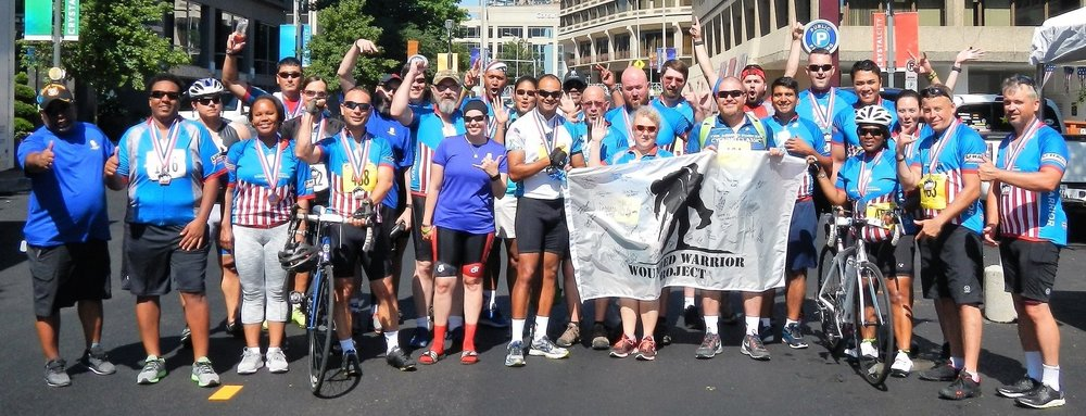 The Wounded Warriors Corporate Challenge Team