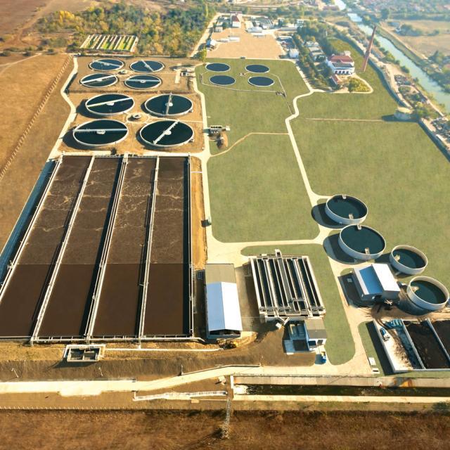 Timisoara Wastewater Treatment Plant, Romania