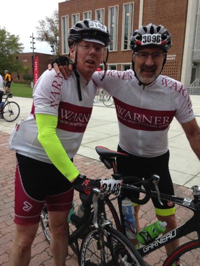 Ronan McHugh and Tony Manning